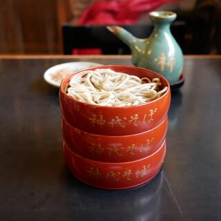 神代そば - 料理写真: