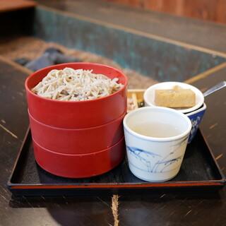 中国山地蕎麦工房 ふなつ - 料理写真: