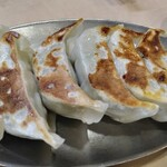 味の店 錦 不動前店 - 焼き餃子。