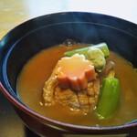 神楽坂 前田 - 合鴨の治部煮椀