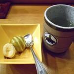 金寿し - デザート & お茶