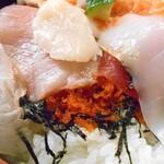金寿し - ちらし寿司(大盛り)