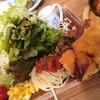 森のcafe - 料理写真:キッシュのセットのサラダは、食べても減らない・・・