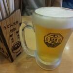 うどん大学 - 生ビール