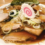 いちまる - 生姜醤油チャーシューラーメン