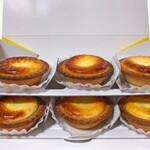 ベイク チーズ タルト - 焼きたてチーズタルト6個セット 1242円