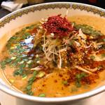 雲林坊 - 汁あり担担麺と小麻婆丼のセット