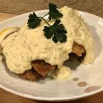 哲 - 牡蠣フライタルタルソース