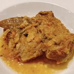 オステリア クロチェッタ - 羊のショルダー 白ワイン煮