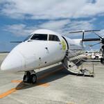 ヨロンの味たら - ☆ヨロン島には那覇空港でプロペラ機に乗り換え向かう。