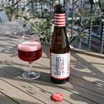 桜キッチンカフェ - チェリービール