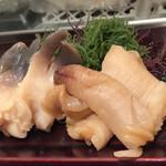 日本ばし すし鉄 - 北寄貝☆みる貝