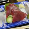 Chimmidou - 料理写真:生カツオ刺身 580円。