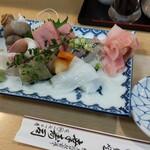 幸寿司 - 刺身の図