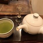 147078342 - 緑茶 一杯目