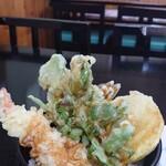 蕎麦一 - ミニ天丼