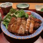 居酒屋 たぬき - [ランチ]豚の山椒焼き