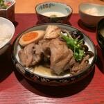 居酒屋 たぬき - [ランチ]鶏すき