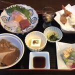 ありまや - 彩り御膳:¥1,100