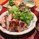居酒屋 たぬき - [ランチ]大山鶏の酒粕味噌焼き