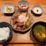 居酒屋 たぬき - [ランチ]豚すき