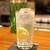 食ばぁー 楽味 - ドリンク写真:Tanqueray London Dry Gin で作るジントニック