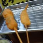 元祖串かつ だるま - キス、牡蠣