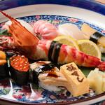 福すし - 料理写真:特上にぎり