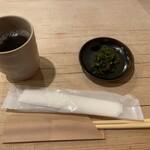 伊勢 - お茶と香のもの