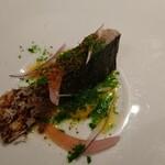 ギュール ルモンテ - 藁焼き鯖。ふわっとしっとり。