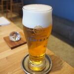 Tonkatsuyoushokunomiseitiban - 生ビール(プレミアムモルツ 香るエール)