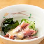 和食日和 おさけと 日本橋室町 - 蛍烏賊の酢味噌かけ