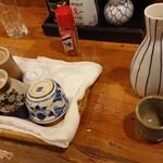 直菊 - 日本酒熱燗  ぐい飲みは選べます!