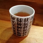 すし処 ひでまる - お茶。ふつうでした。