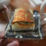 ヒラツカバーガー - 焼きさば棒ずし