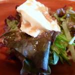輝咲 - 豆腐サラダ
