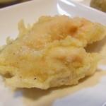 北大通 東家 - 時鮭の天ぷら