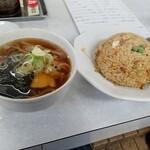 宝来 - チャーハンとミニラーメン