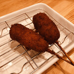 Bucchi - 串かつ 味噌 1本 120円