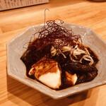 Bucchi - 牛すじどて豆腐 750円