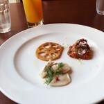 エノテカ・リオーネ - 前菜