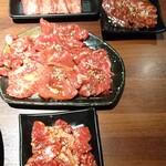 坐旺 新潟東店 - 牛タン塩、牛ハラミ、牛盛り、中落ち牛カルビ
