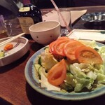さすらい人 - 生野菜サラダ