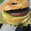 北小麦 - 料理写真:ベイクドドーナツの抹茶