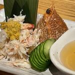 魚真 - 毛ガニ