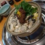 第二力酒蔵 - 牡蠣鍋です