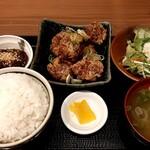 魚 野菜 酒 しゃばらむ - 唐揚げ定食 上