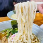 佐野らーめん 麺屋 翔稀 - 佐野ラーメン&味玉