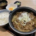 吉野家 - 料理写真:牛の鍋焼き御膳