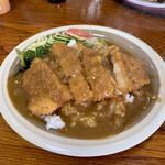 レストラン熊さん - 料理写真:カツカレー(ロース上)